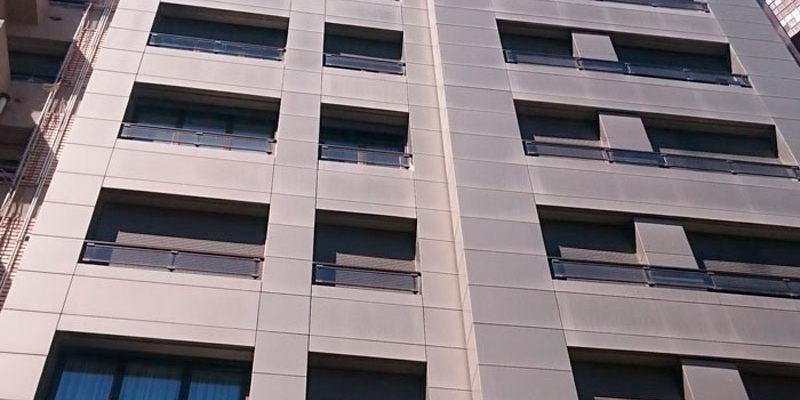 fachadas ventiladas metalicas